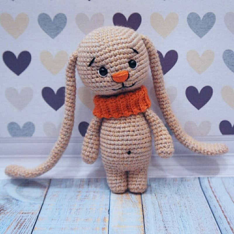 Crochet Bunny Pattern Free Awesome Amigurumi Bunny with Long Ears Amigurumi today Of Charming 50 Pictures Crochet Bunny Pattern Free