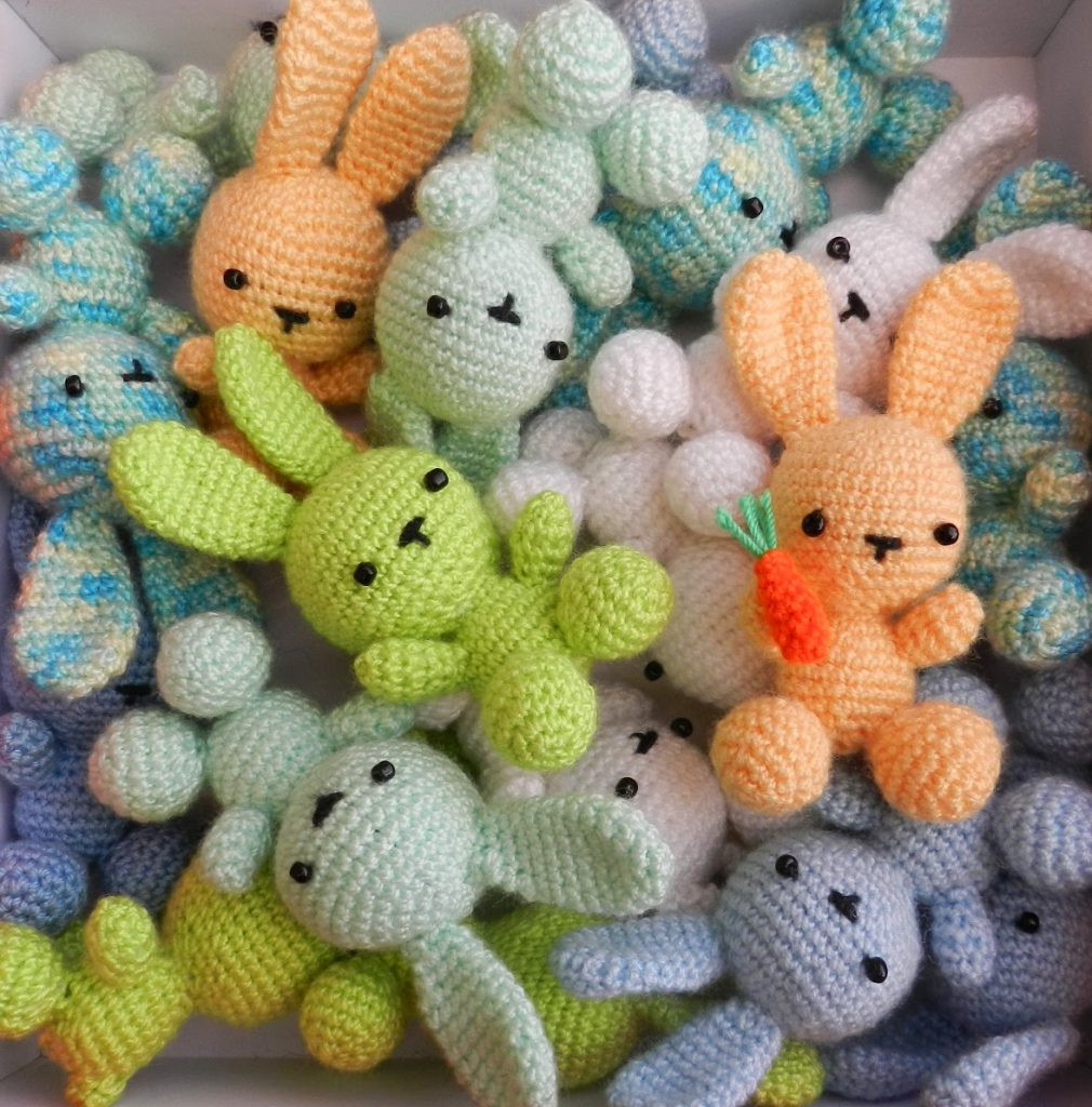 Crochet Bunny Pattern Free Beautiful Crochet Bunny Roundup Sugar Bee Crafts Of Charming 50 Pictures Crochet Bunny Pattern Free
