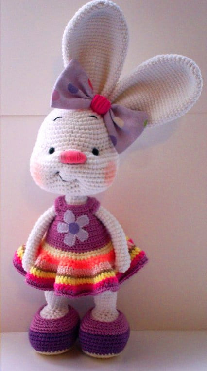 Crochet Bunny Pattern Free Elegant Bunny Crochet Free Pattern You Will Love This Collection Of Charming 50 Pictures Crochet Bunny Pattern Free