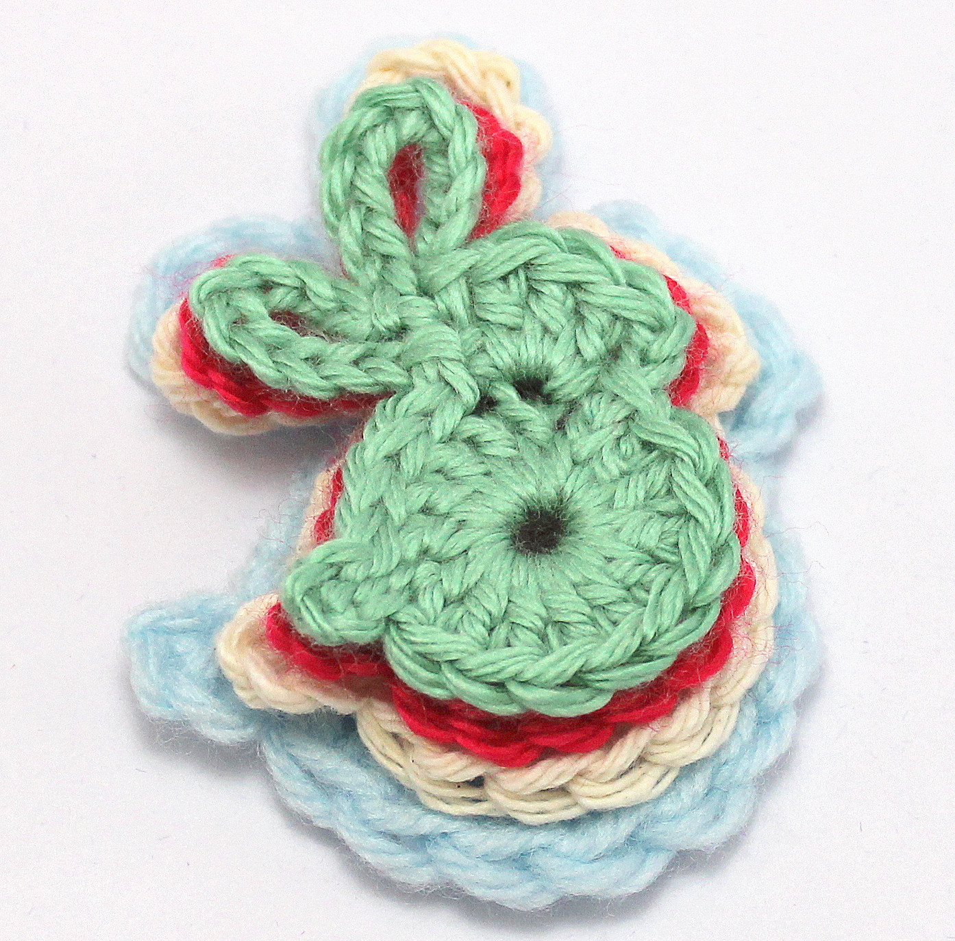 Crochet Bunny Pattern Free Fresh Cute Bunny Applique Of Charming 50 Pictures Crochet Bunny Pattern Free