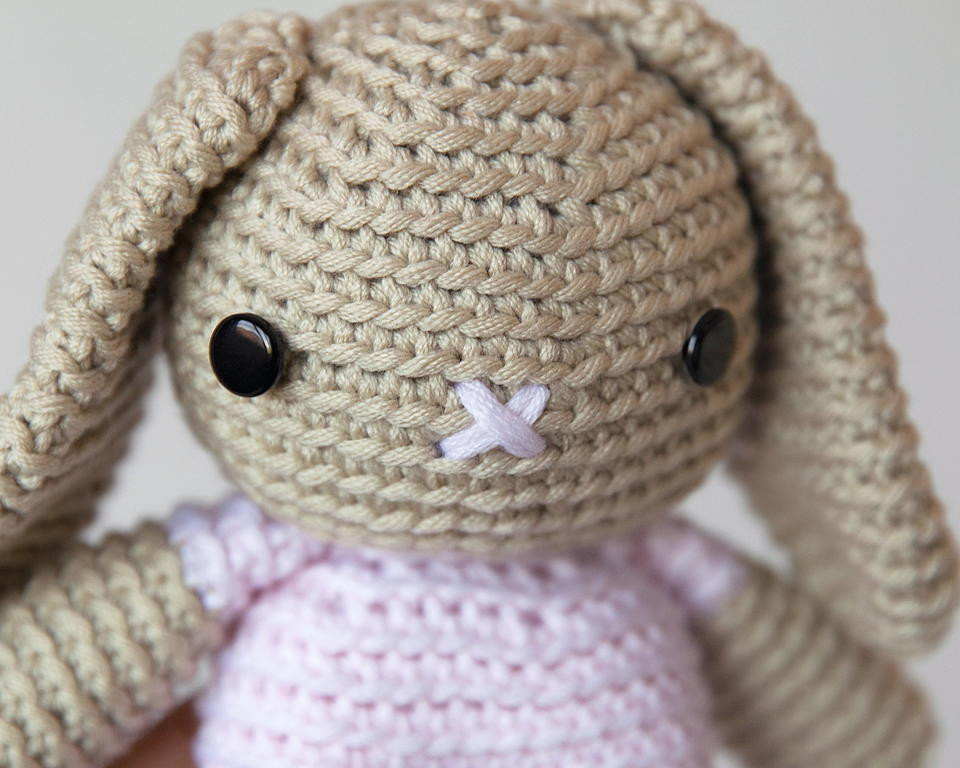 Crochet Bunny Pattern Free Luxury Breanna Bunny Amigurumi Pattern Of Charming 50 Pictures Crochet Bunny Pattern Free