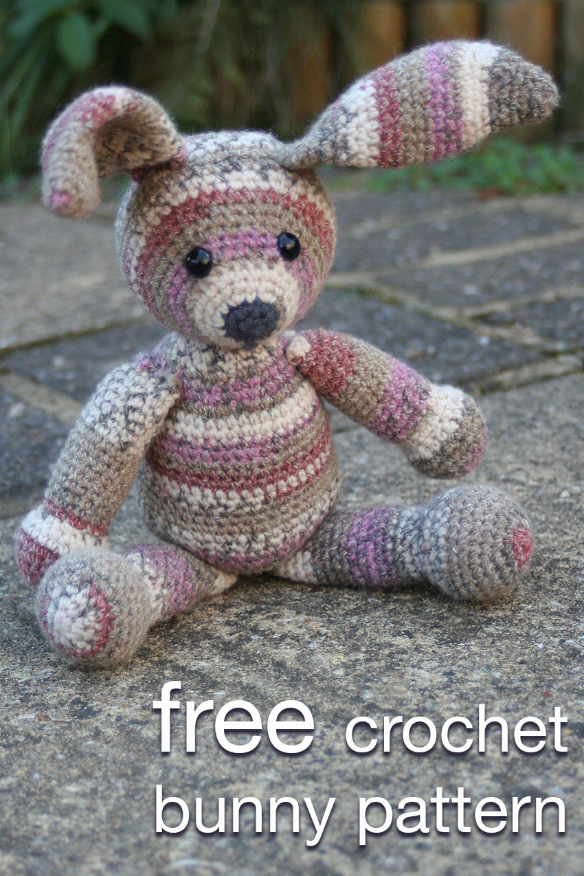 Crochet Bunny Pattern Free New Crochet Bunny Pattern Lucy Kate Crochet Of Charming 50 Pictures Crochet Bunny Pattern Free