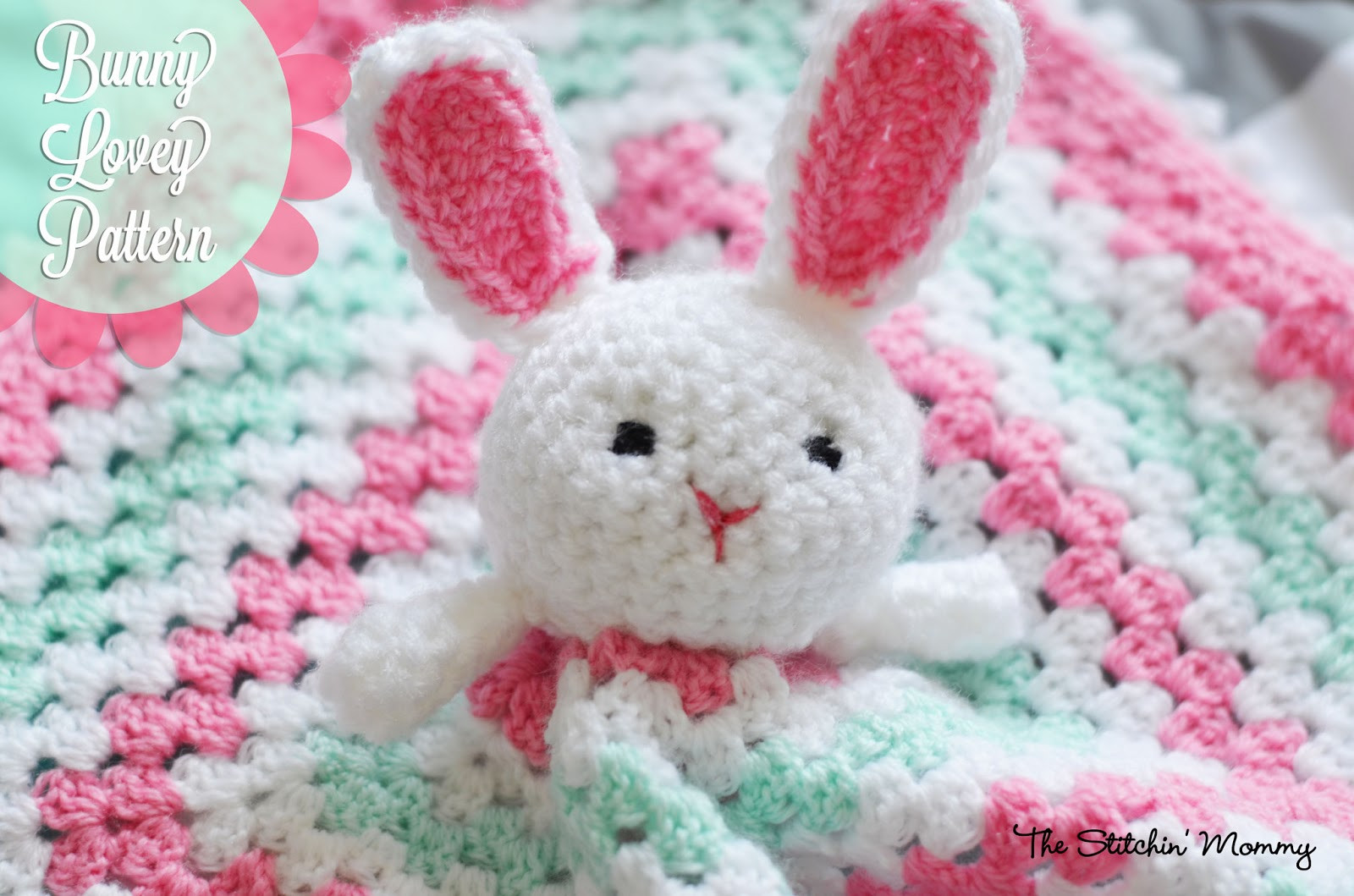 Crochet Bunny Pattern Unique Crochet Bunny Lovey Free Pattern the Stitchin Mommy Of Delightful 44 Models Crochet Bunny Pattern