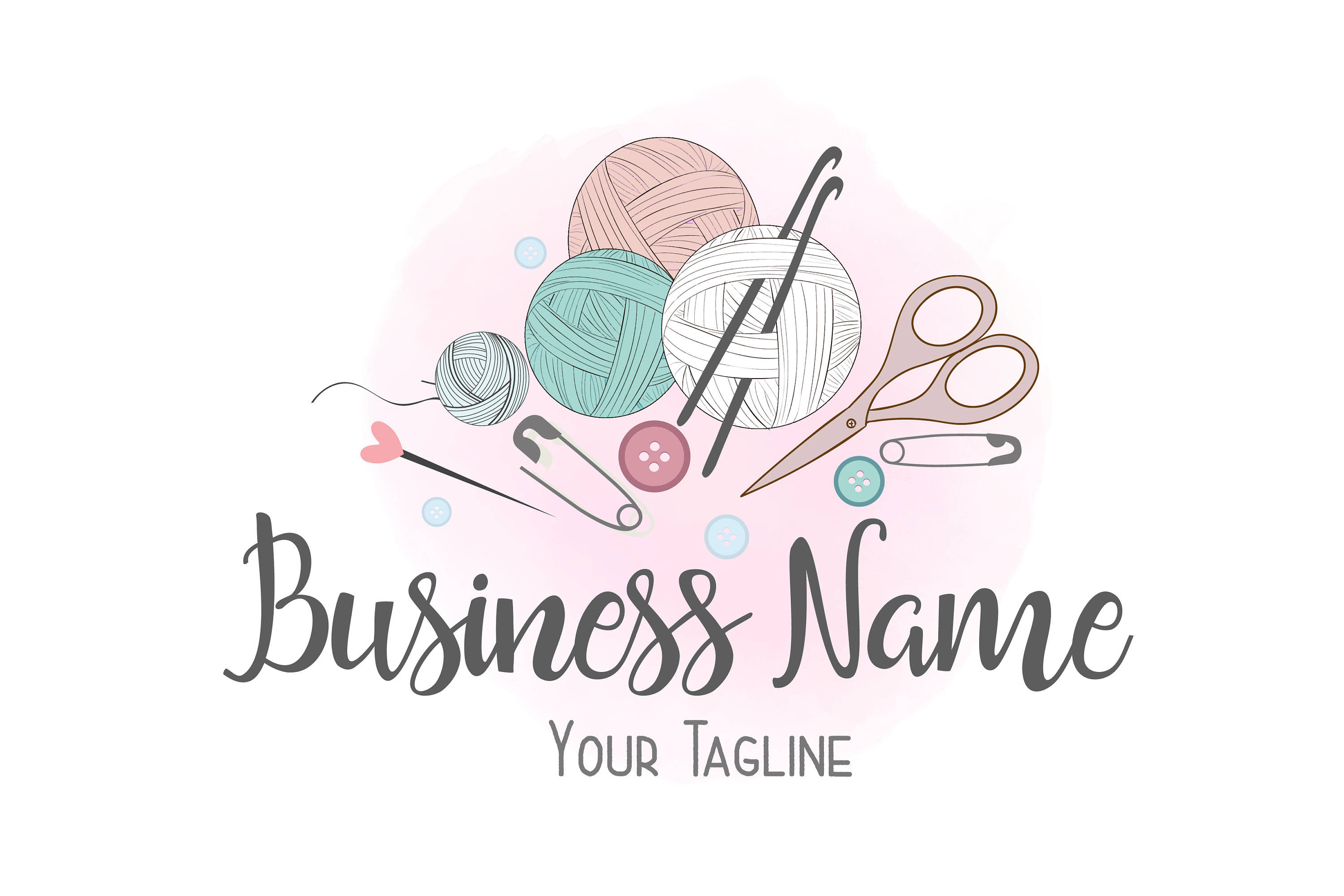 Crochet Business Name Ideas Awesome Custom Logo Design Crochet Yarn Logo Sew Knitting Logo Of Wonderful 48 Images Crochet Business Name Ideas