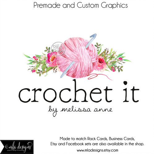 Crochet Business Name Ideas Best Of Knitting or Crochet Logo Watercolor Yarn Logo Of Wonderful 48 Images Crochet Business Name Ideas