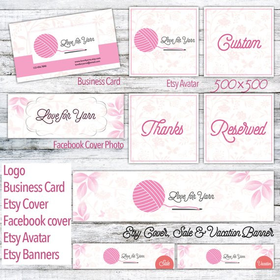 Crochet Business Name Ideas Inspirational Crochet Branding Package with Logo Premade by Nancydzines Of Wonderful 48 Images Crochet Business Name Ideas