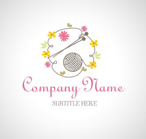 Crochet Business Name Ideas Inspirational Logo Design Ooak Logo Premade Logo and Watermark Wool Ball Of Wonderful 48 Images Crochet Business Name Ideas