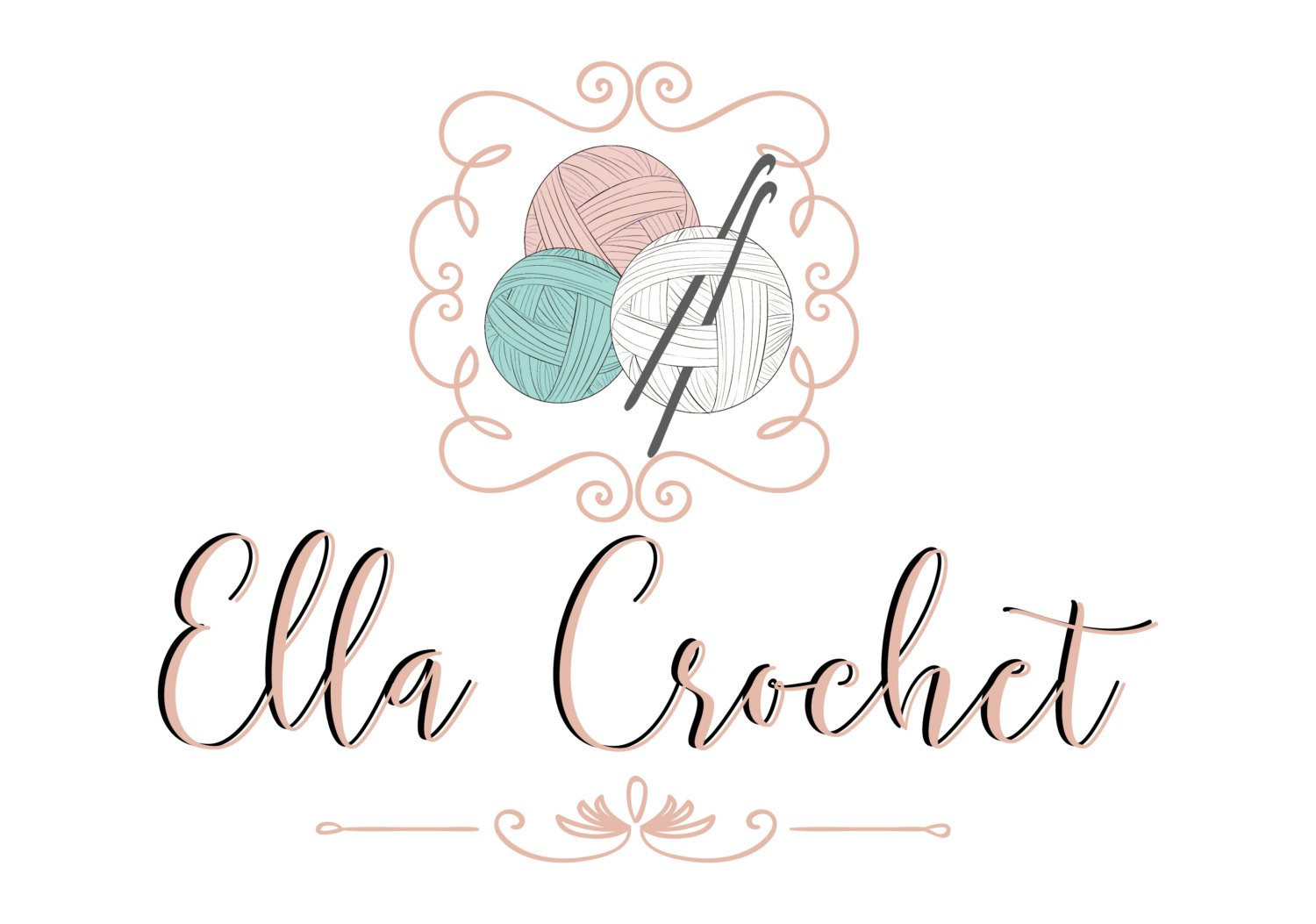 Crochet Business Name Ideas Luxury Custom Logo Design Crochet Yarn Logo Sew Knitting Logo Of Wonderful 48 Images Crochet Business Name Ideas