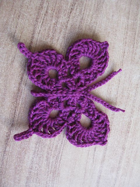 Crochet butterfly New Free Pattern Ravelry and Crochet butterfly On Pinterest Of Adorable 43 Photos Crochet butterfly