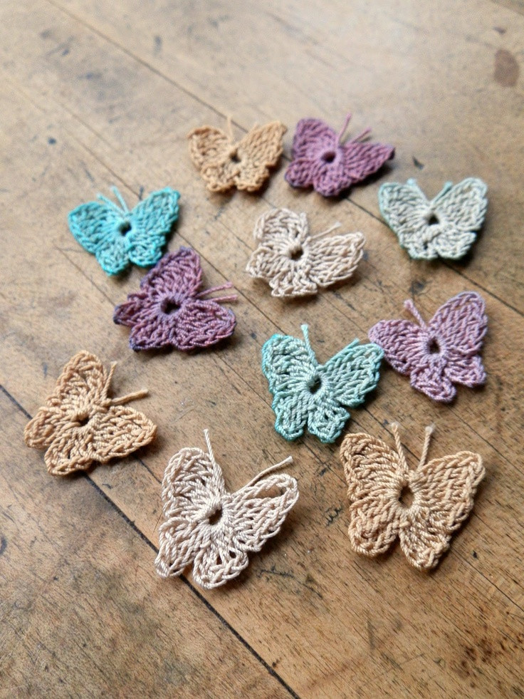 Crochet butterfly Pattern Beautiful 147 Best Crocheted butterflies All Crafted butterflies Of Great 41 Pics Crochet butterfly Pattern