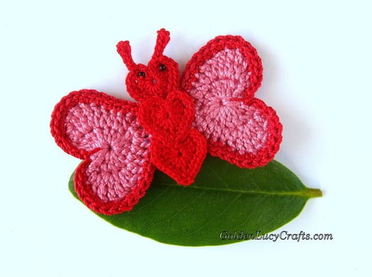 Crochet butterfly Pattern Best Of Free Crochet Pattern for butterfly Hat Dancox for Of Great 41 Pics Crochet butterfly Pattern