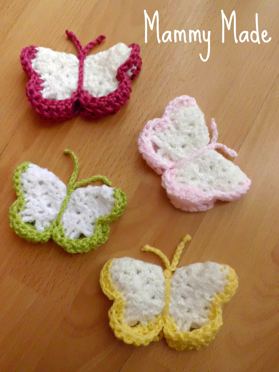 Mammy Made Crochet 3D Butterfly