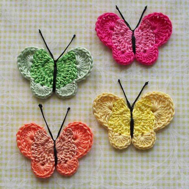 Crochet butterfly Pattern Inspirational Free Crochet butterfly Patterns Of Great 41 Pics Crochet butterfly Pattern