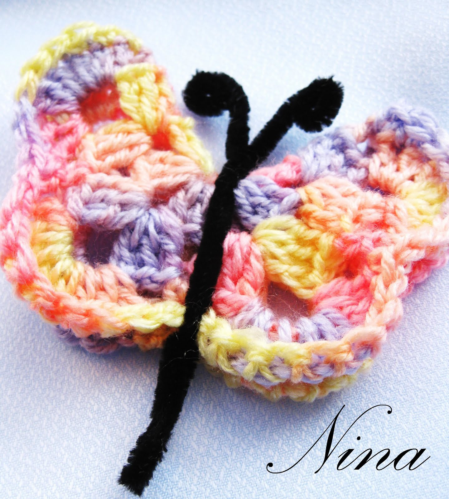 Crochet butterfly Pattern Lovely Crochet butterfly Magnet Crochet — Learn How to Crochet Of Great 41 Pics Crochet butterfly Pattern