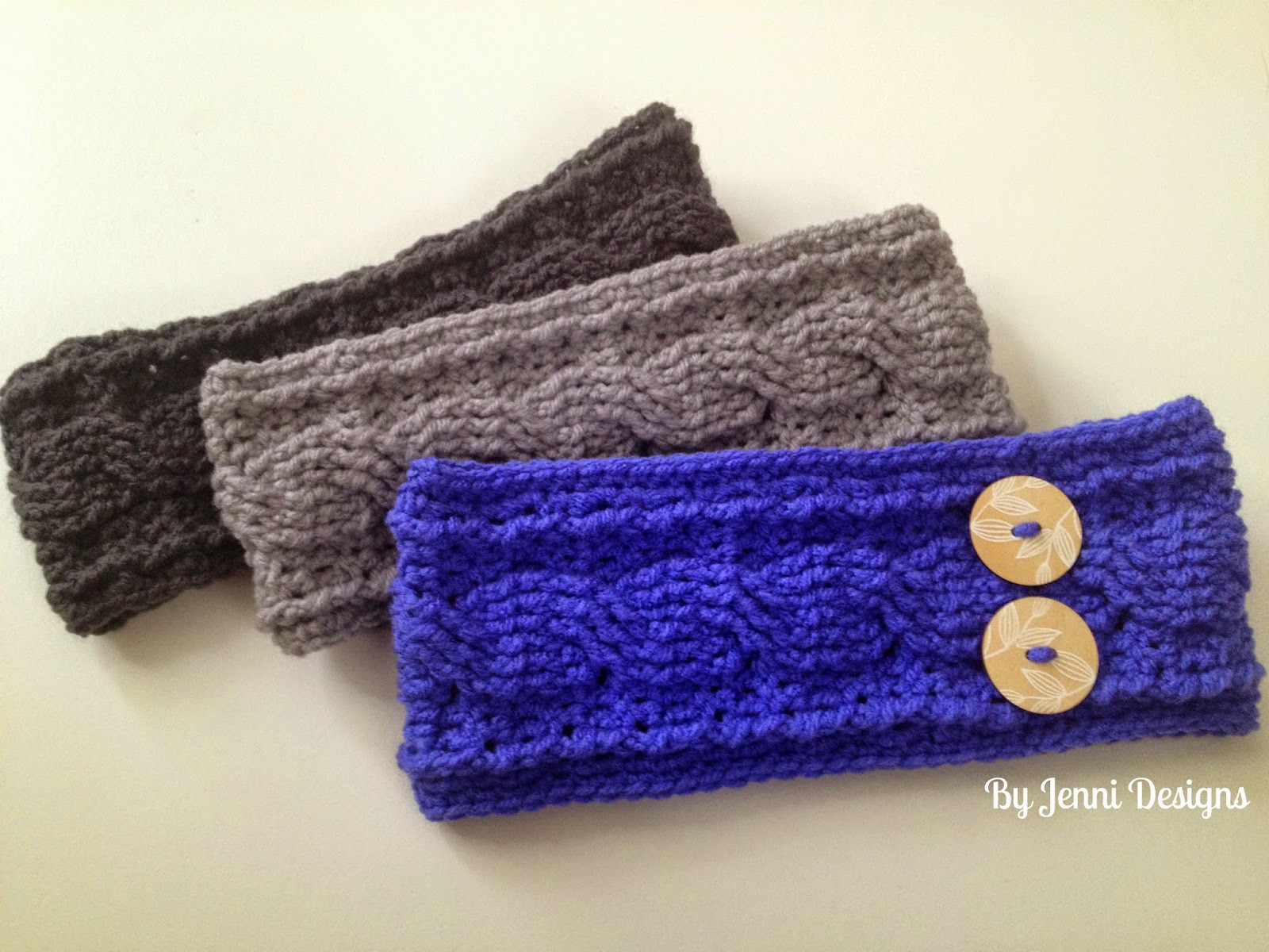 Crochet Cable Pattern Lovely by Jenni Designs Crochet Cable Ear Warmer Pattern Of Perfect 40 Ideas Crochet Cable Pattern