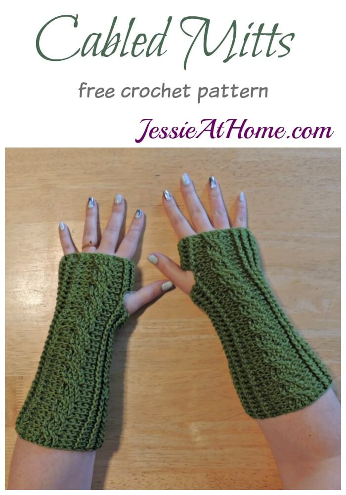 Crochet Cable Pattern Lovely Crochet Cabled Mitts Of Perfect 40 Ideas Crochet Cable Pattern