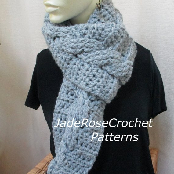 Crochet Cable Scarf Best Of Crochet Scarf Pattern Cable Crochet Scarf Pattern Uni Of Incredible 40 Photos Crochet Cable Scarf