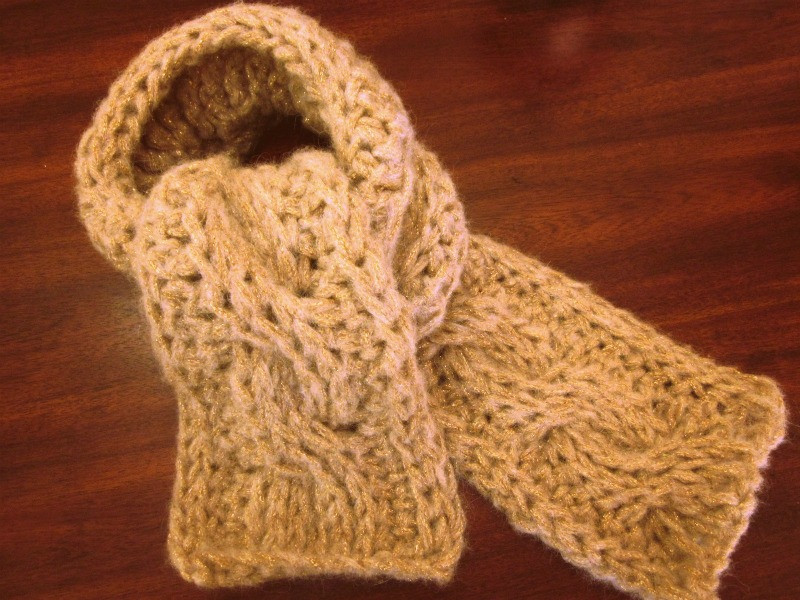 Crochet Cable Scarf Best Of top 10 Countdown 6 Tunisian Crochet Cabled Scarf Of Incredible 40 Photos Crochet Cable Scarf