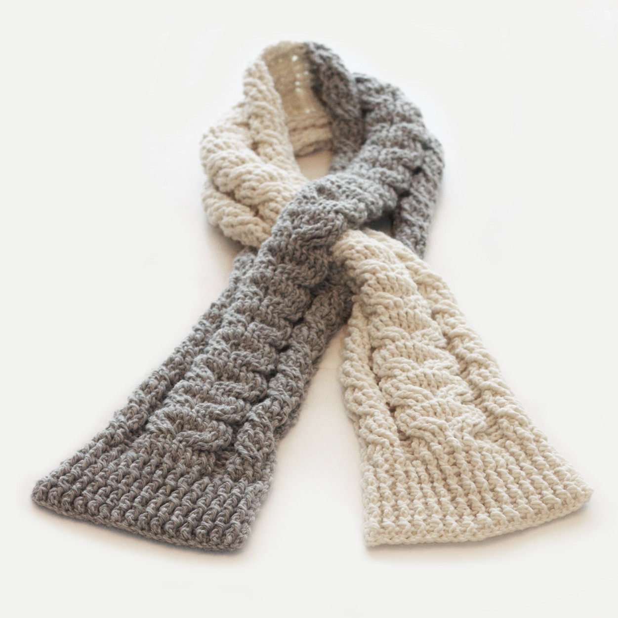 Crochet Cable Scarf Lovely Knot•sew•cute Design Shop New Crochet Pattern Cabled Of Incredible 40 Photos Crochet Cable Scarf