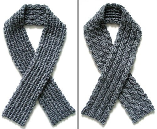 Crochet Cable Scarf Lovely Reversible Cable Scarf Pdf Crochet Pattern Instant Of Incredible 40 Photos Crochet Cable Scarf