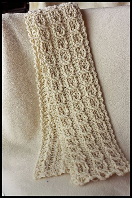 Crochet Cable Scarf New 226 Best Images About Cable Crochet On Pinterest Of Incredible 40 Photos Crochet Cable Scarf