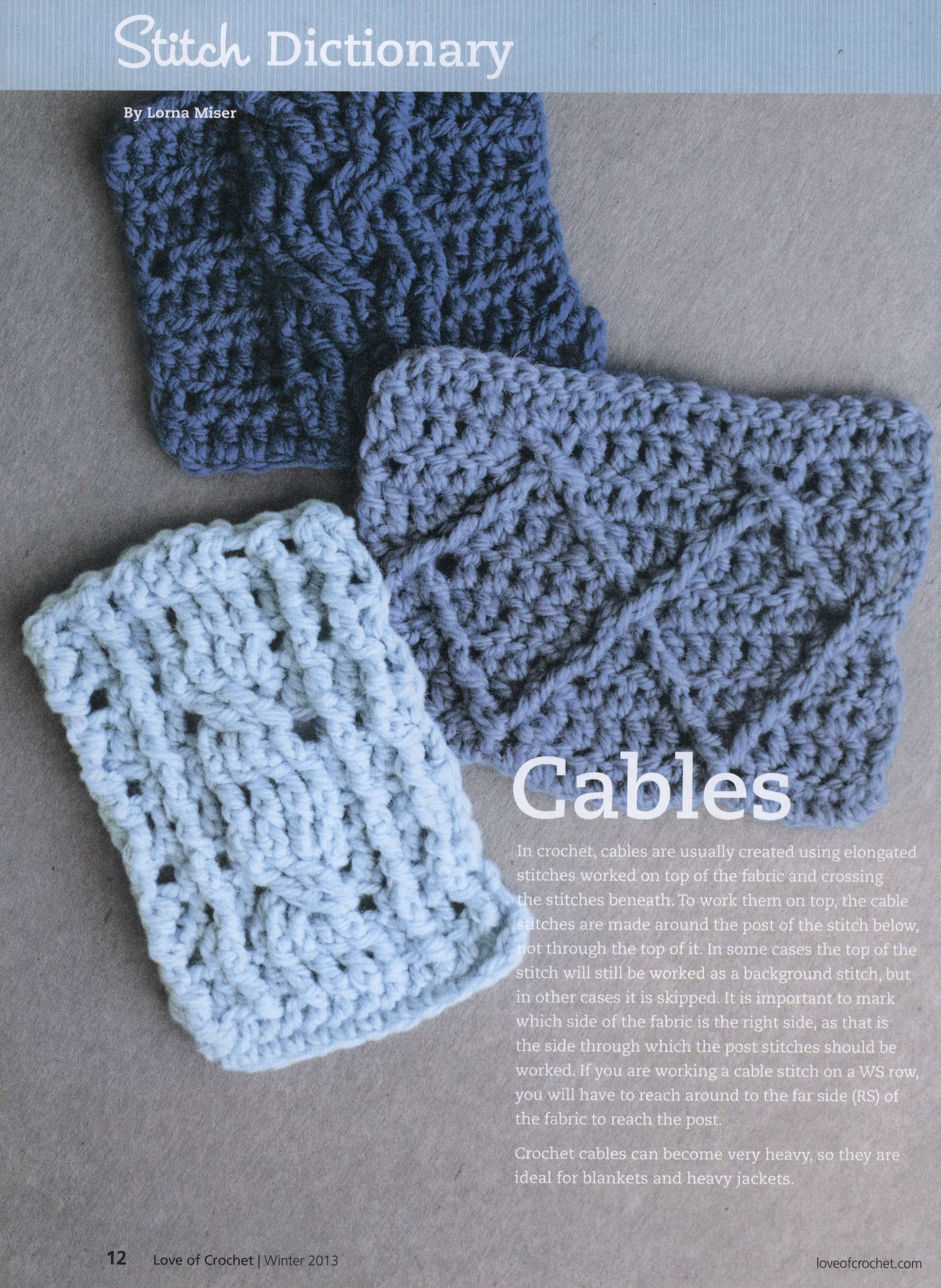 Crochet Cables Elegant Crochet Cable Stitches ⋆ Crochet Kingdom Of Amazing 48 Pics Crochet Cables
