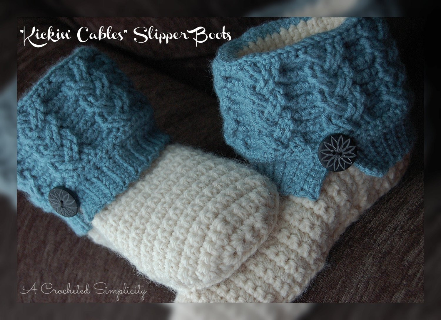 Crochet Cables Elegant Crochet Pattern Kickin Cables Slipper Boots Of Amazing 48 Pics Crochet Cables