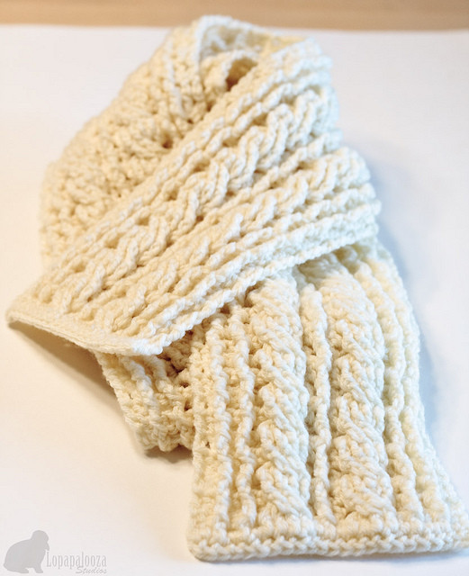Crochet Cables Fresh Crochet Cable Scarf Pattern Of Amazing 48 Pics Crochet Cables