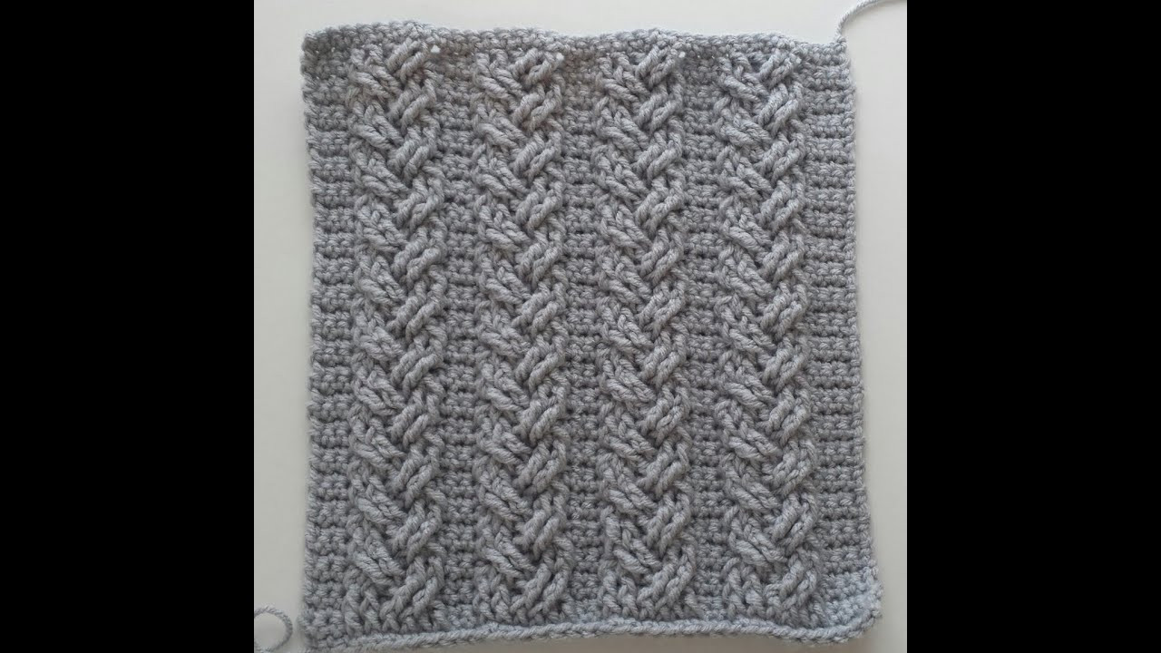 Crochet Cables Fresh Crochet Cables Single Plaited Cables Part 2 Rows 5 6 Of Amazing 48 Pics Crochet Cables