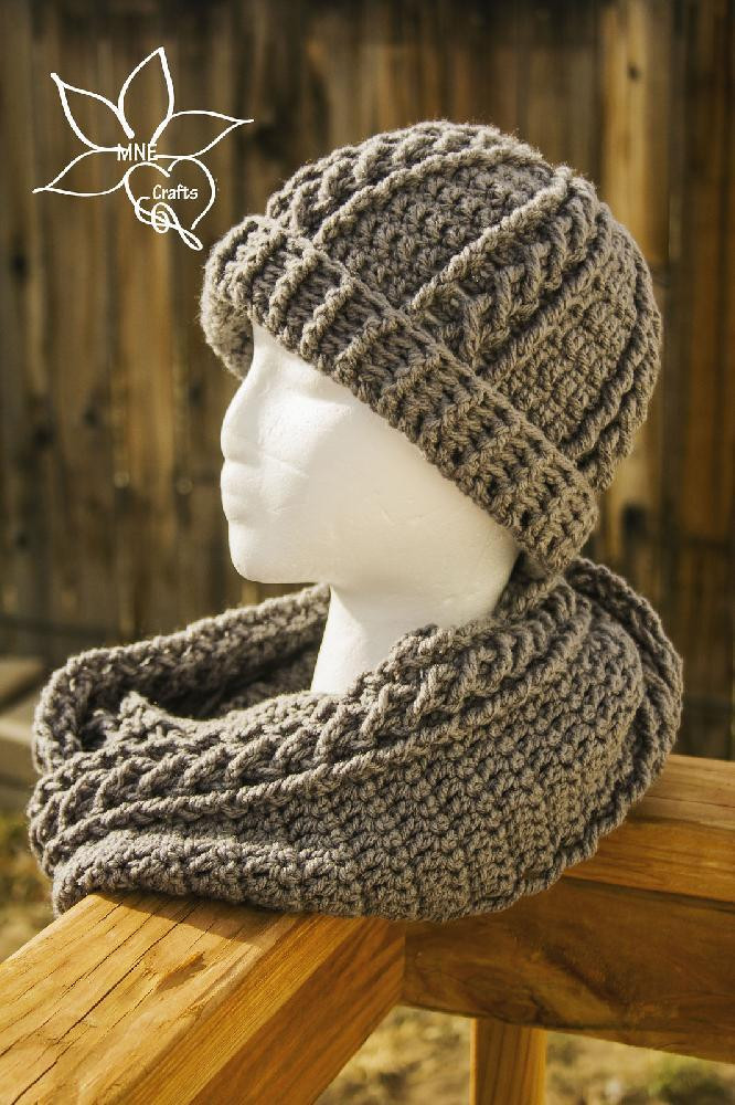 Crochet Cables Lovely Cables & Braids Cowl & Beanie Set Crochet Pattern by Of Amazing 48 Pics Crochet Cables