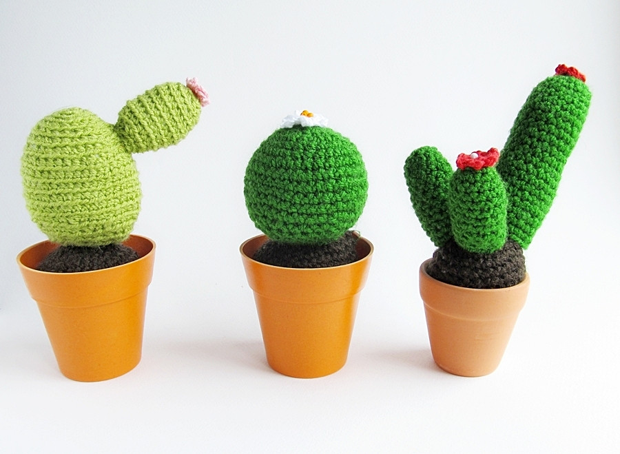 Crochet Cactus Pattern Beautiful Crochet Cacti Pattern Of Lovely 40 Models Crochet Cactus Pattern