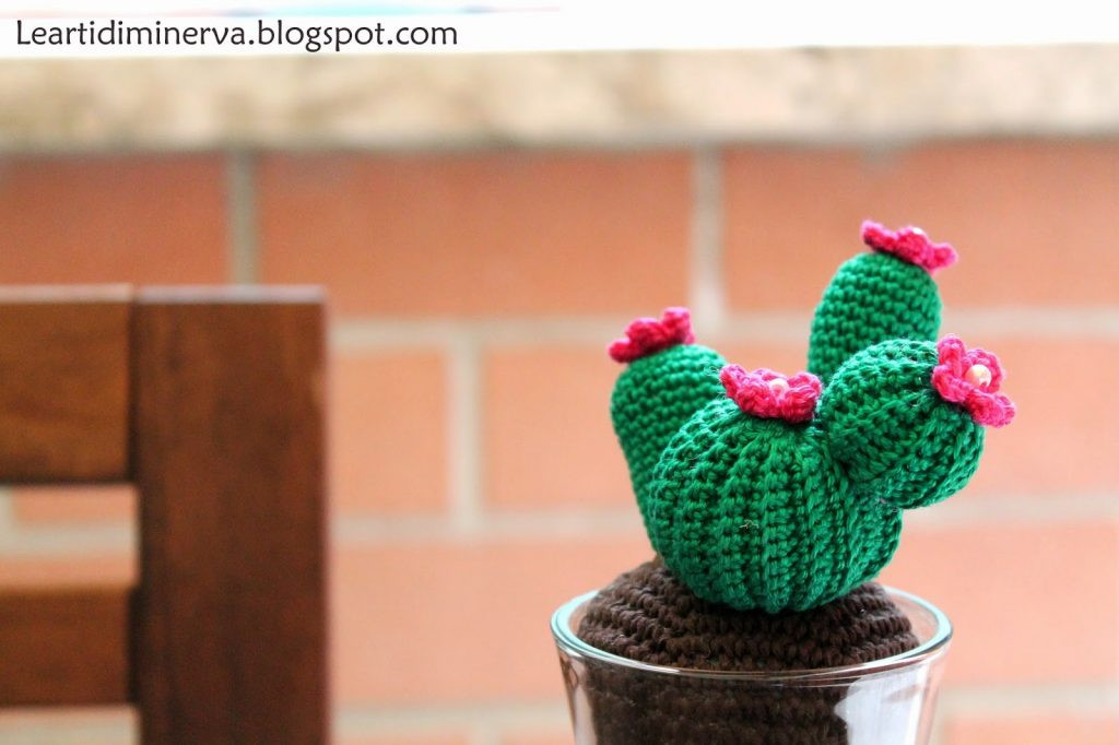 Crochet Cactus Pattern Beautiful Free Crochet Pattern for A Cactus Amigurumi ⋆ Crochet Kingdom Of Lovely 40 Models Crochet Cactus Pattern