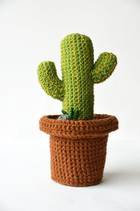Crochet Cactus Pattern Elegant 383 Best Amigurumis Cactus Images On Pinterest Of Lovely 40 Models Crochet Cactus Pattern
