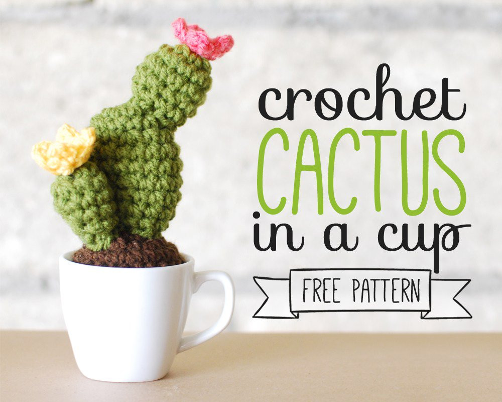 Crochet Cactus Pattern New 10 Desert Cactus Amigurumi Crochet Patterns Look Of Lovely 40 Models Crochet Cactus Pattern