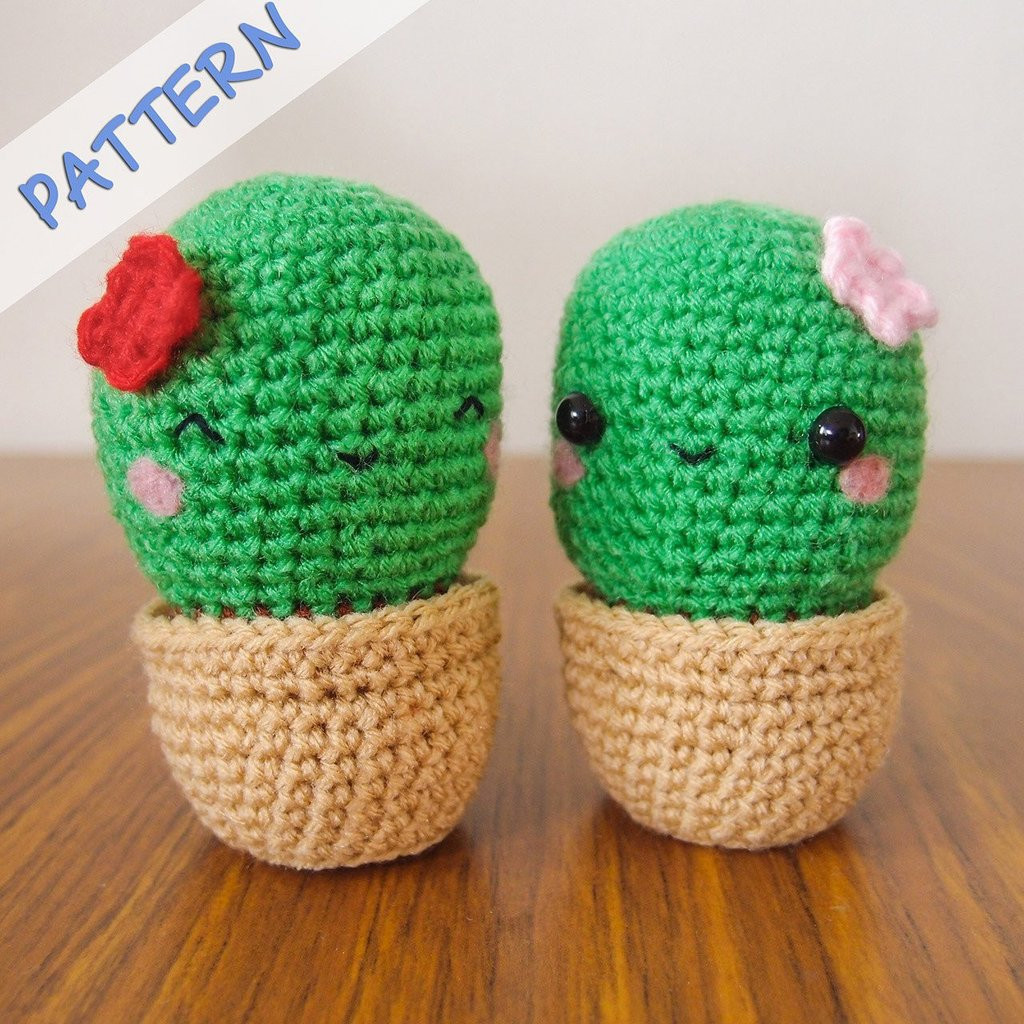Crochet Cactus Pattern New Cactus Amigurumi Crochet Pattern – Snacksies Handicraft Of Lovely 40 Models Crochet Cactus Pattern