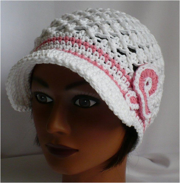 Crochet Cap Pattern Lovely Crocheting Hats with A Brim Patterns Crochet and Of Charming 47 Pics Crochet Cap Pattern