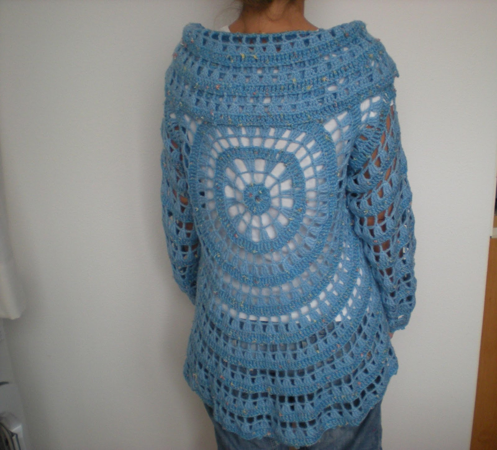 Crochet Cardigan Free Pattern Awesome Emmhouse Another Circular Cardigan – Free Crochet Pattern Of Top 49 Pics Crochet Cardigan Free Pattern