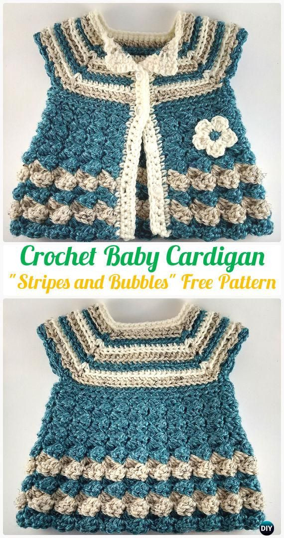 25 best ideas about Crochet Baby Sweaters on Pinterest