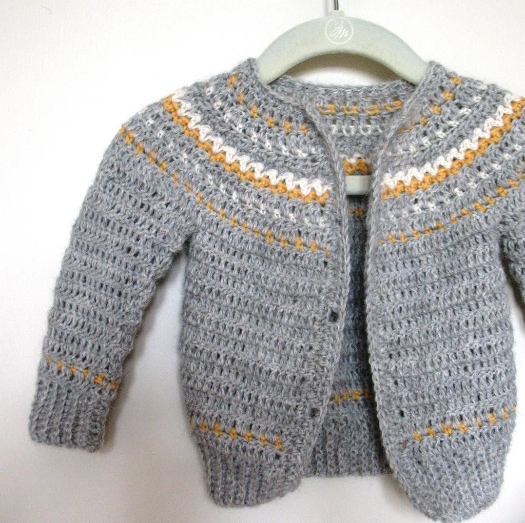 Crochet Cardigan Pattern Elegant Fair isle Crochet by Sarah Lora Of Perfect 41 Ideas Crochet Cardigan Pattern