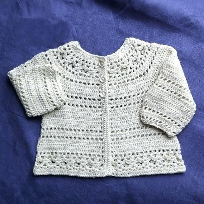 Crochet Cardigan Pattern Lovely Child Cardigan Girls Long Sleeve Embroidered Beige 8 Of Perfect 41 Ideas Crochet Cardigan Pattern
