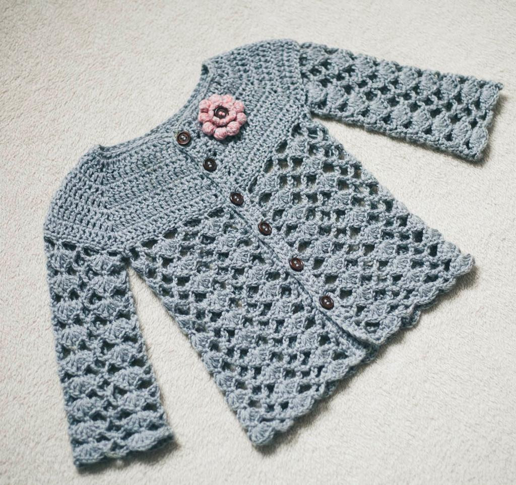 Crochet Cardigan Pattern Unique Crochet Pattern Sweet Little Cardigan by Monpetitviolon Of Perfect 41 Ideas Crochet Cardigan Pattern