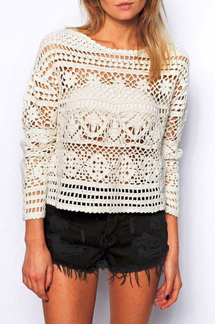 Crochet Cardigan Sweater Best Of Crochet Pullover Pattern Crochet Crop top Pattern Of Luxury 41 Ideas Crochet Cardigan Sweater