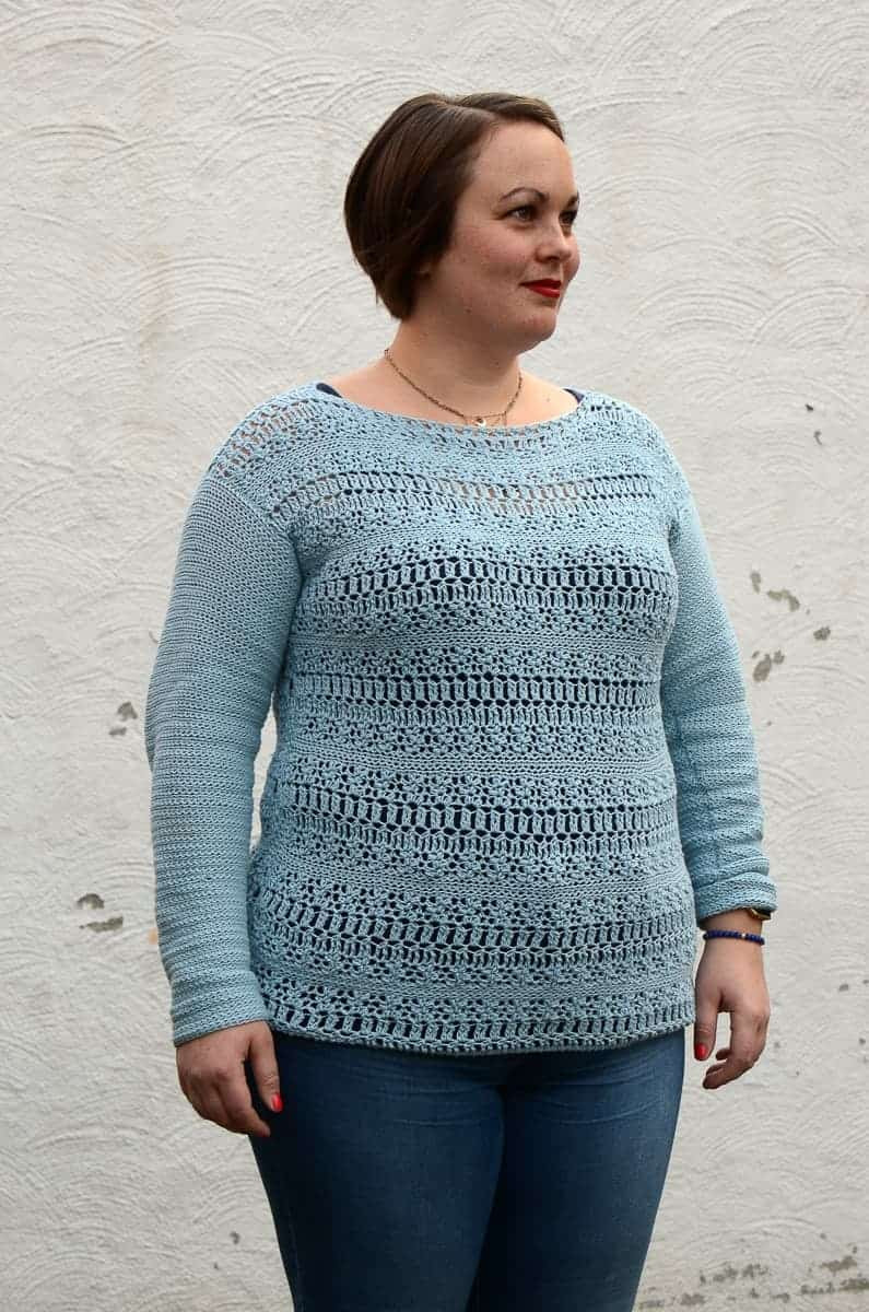 Coelum Sweater Crochet Pattern • Easy Crochet Pattern