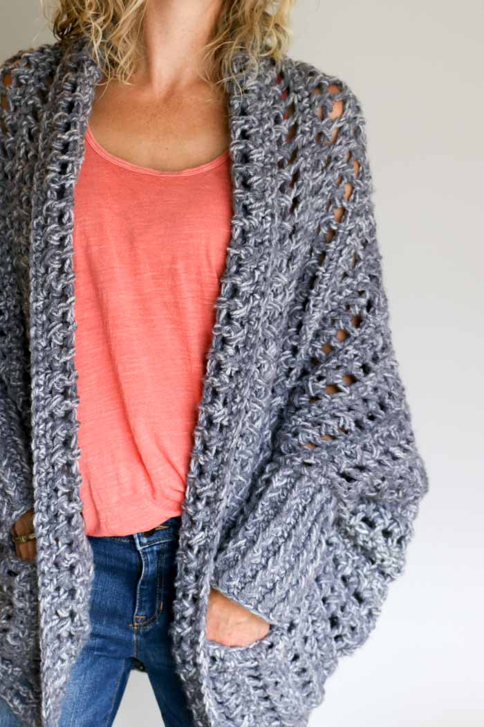 Video Tutorial How to Crochet a Sweater the free Dwell