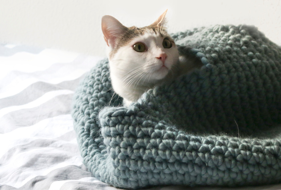 Crochet Cat House Luxury Free Pattern A Crochet House for Your Cat the Blog Us Uk Of Crochet Cat House