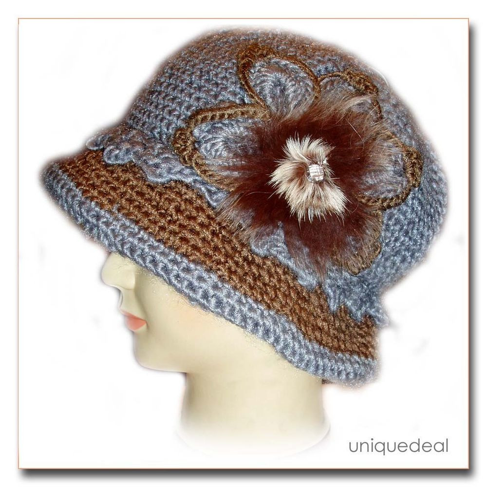Crochet Chemo Caps Luxury New Fashion Women Crochet Chemo Winter Hat Beanie W Flower Of Contemporary 46 Images Crochet Chemo Caps