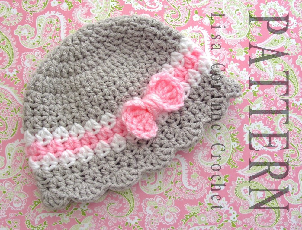 Crochet Child Hat Best Of Baby Hat Crochet Pattern Baby Girl Hats Pattern Crochet Bow Of Perfect 44 Pictures Crochet Child Hat
