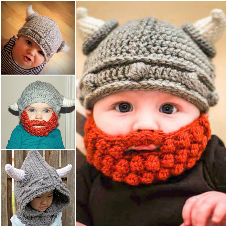 Crochet Child Hat Fresh Crochet Viking Hat with Beard Free Pattern Video Tutorial Of Perfect 44 Pictures Crochet Child Hat