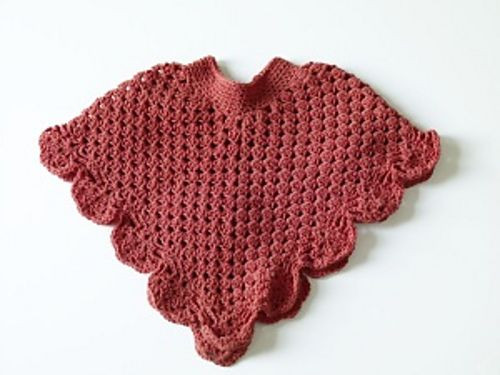 Crochet Child Poncho Awesome Child Ing Home Poncho Crochet Pinterest Of Crochet Child Poncho Fresh Easy Poncho to Crochet with Puff Stitch Rows