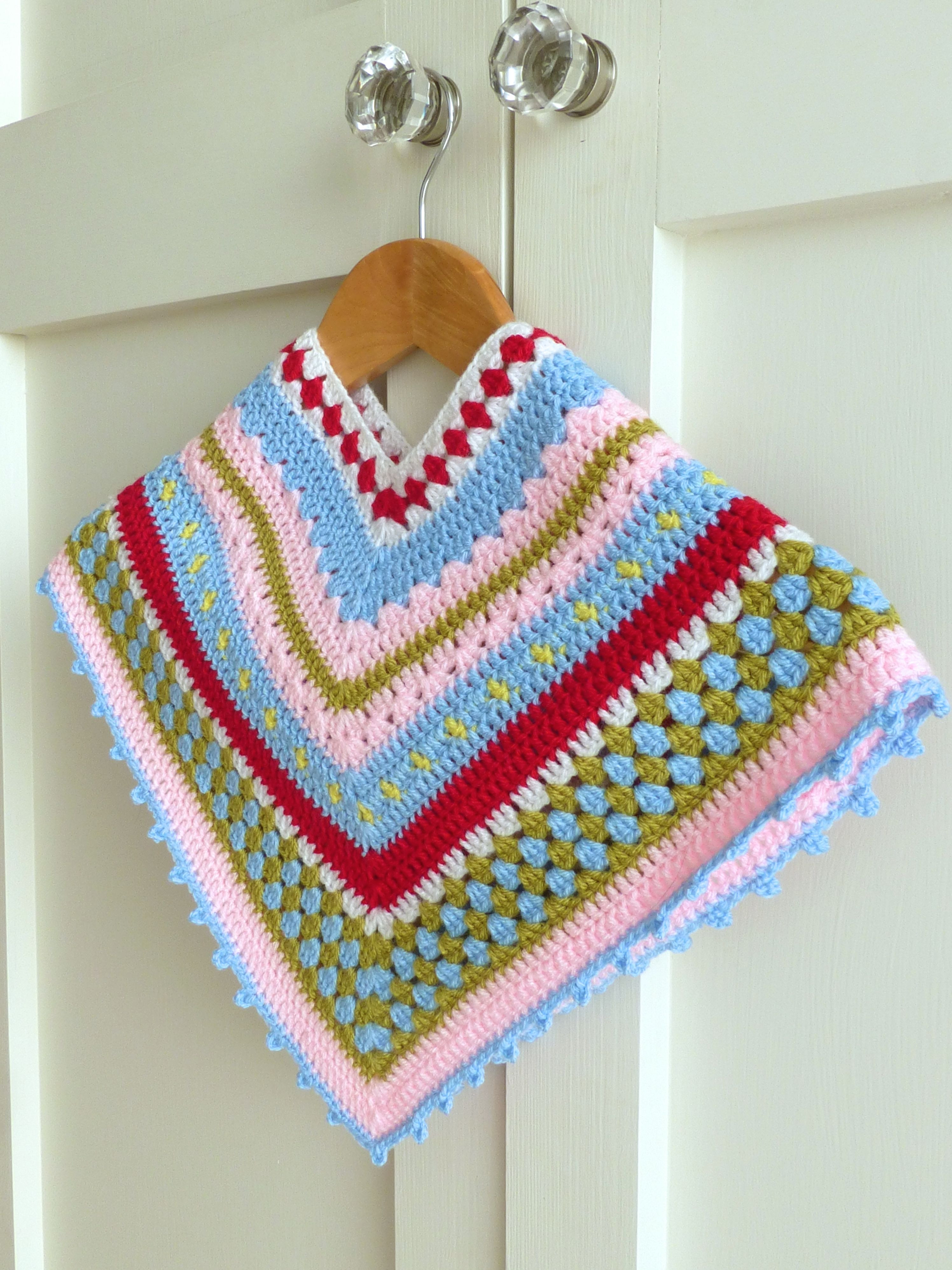 Crochet Child Poncho Best Of Crochet Baby Poncho Tutorial Of Crochet Child Poncho Fresh Easy Poncho to Crochet with Puff Stitch Rows